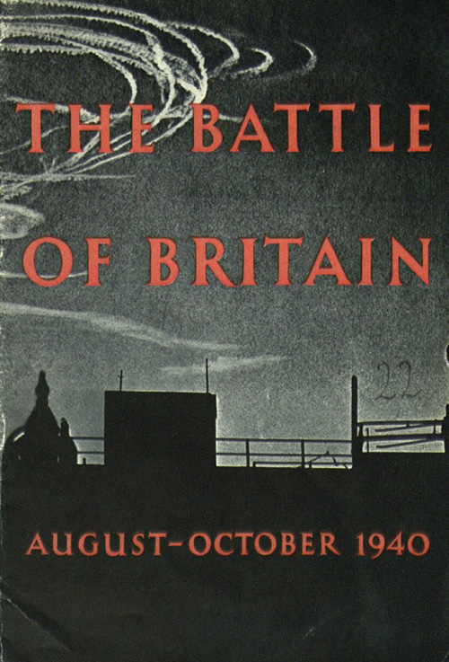 Front cover of the book 'The Battle of Britain, August–October 1940'.