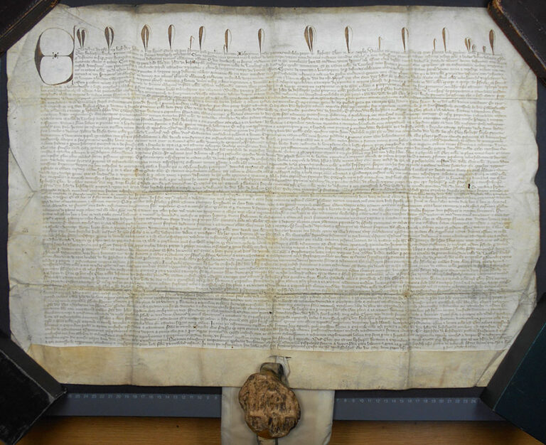 Foundation charter for six chantries in the collegiate church of Lowthorpe, 1333.