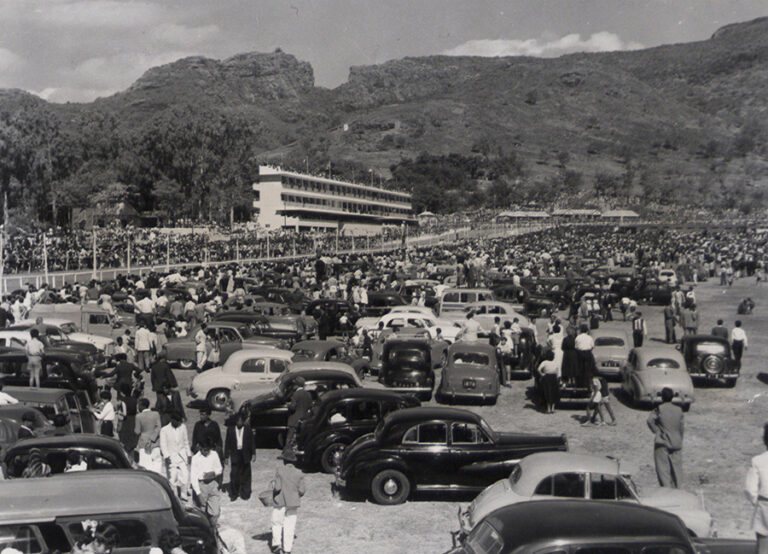 Champ de Mars racecourse in Mauritius, from the Five Photos resource.