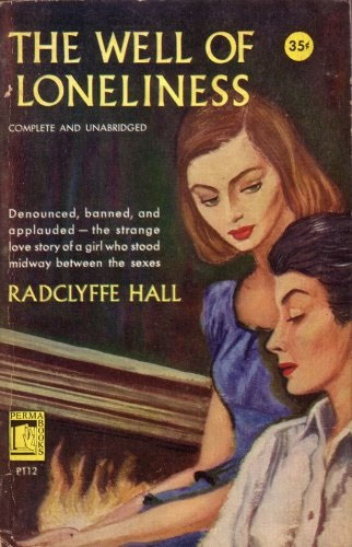 Front cover of a paperback edition of The Well of Loneliness, published by Permabooks in 1951.