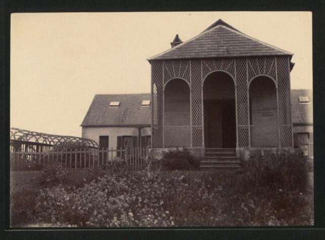 Longwood House in 1914.
