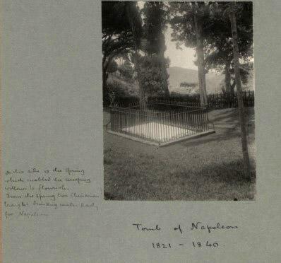 Napoleon's tomb on St Helena.