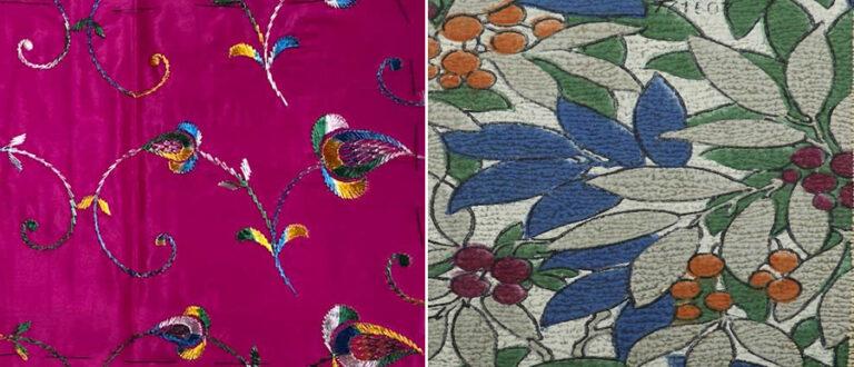 Silk wallpaper designs from BT 52 series to inspire internal decoration.