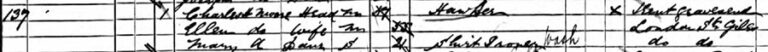 The National Archives, Census Returns of England and Wales, 1891.